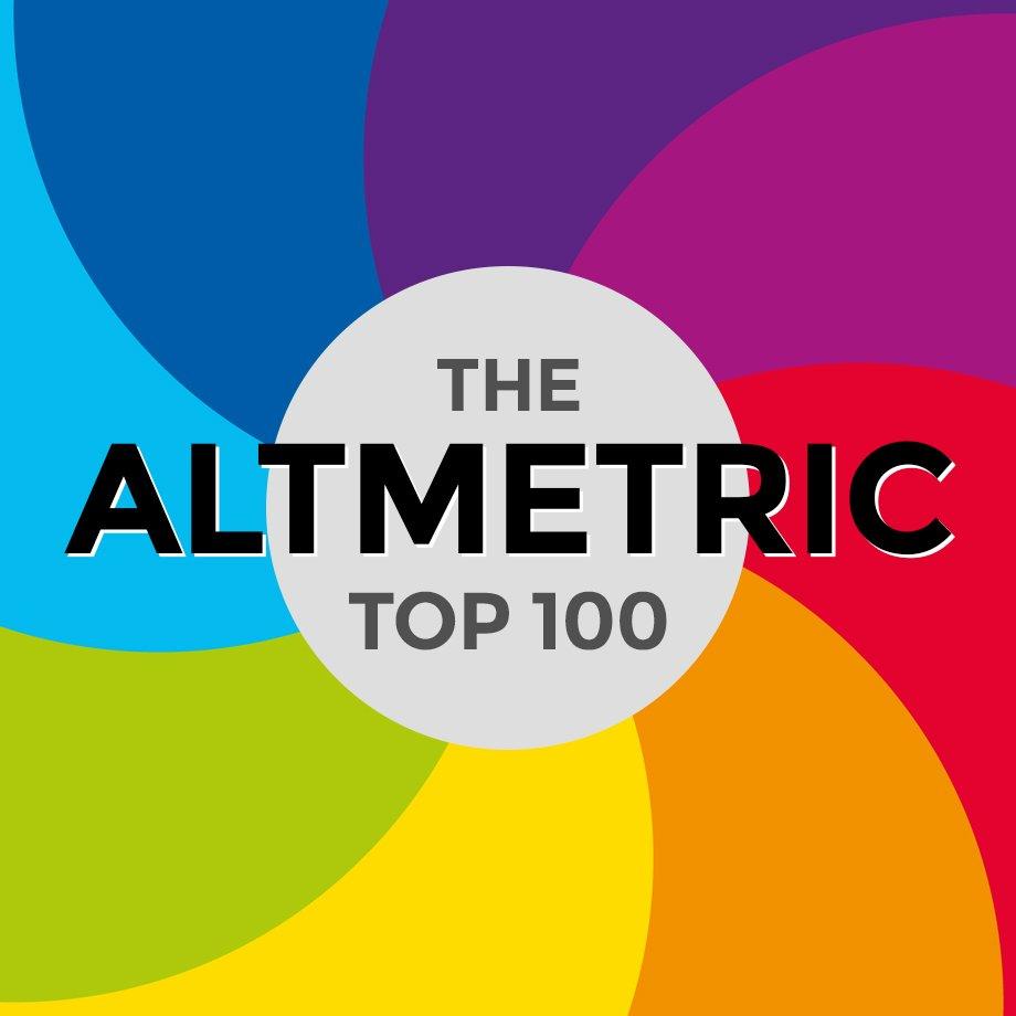 Il logo della classifica Altmetric