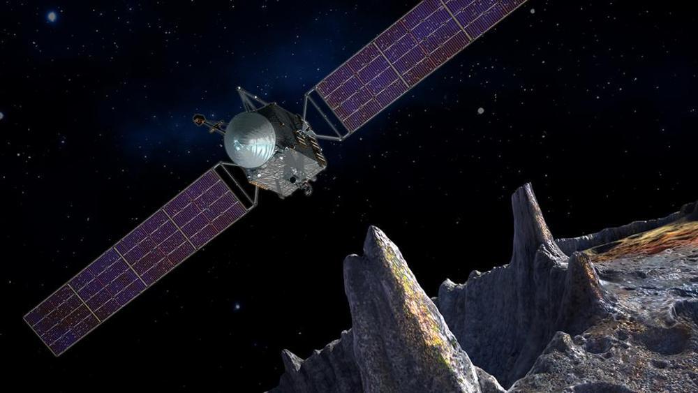 L'asteroide Psyche (nelle foto il rendering della missione della Nasa) fu scoperto nel 1852, dall'Osservatorio astronomico di Capodimonte a Napoli, dall'italiano Annibale de Gasparis