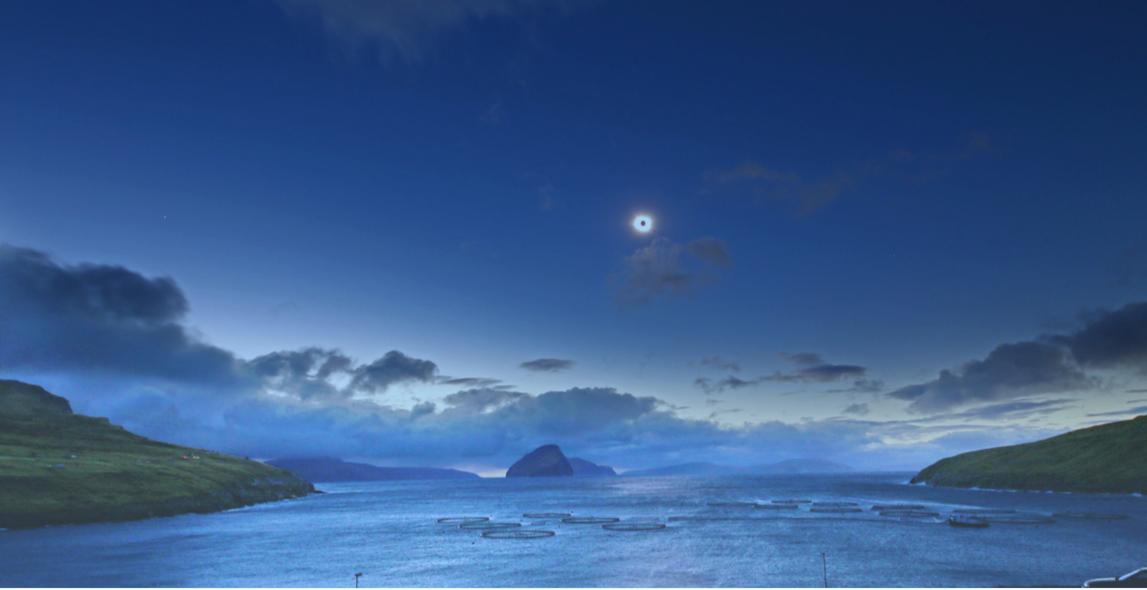 Eclisse 2015 Fær Øer