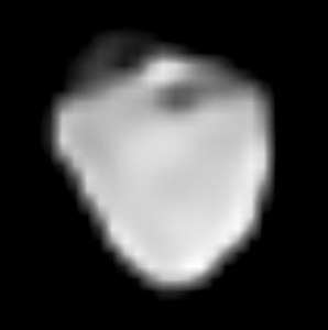 This image, taken by the SPHERE instrument on the VLT Telescope, shows the asteroid 6 Hebe.